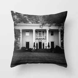 Historic Southern Home Throw Pillow