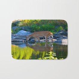 Deer Reflections Bath Mat