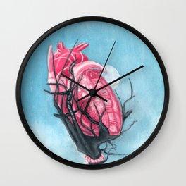 Heart's Apart Wall Clock