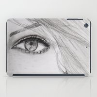 emma stone iPad Cases featuring Emma Stone Drawing by Olivia Scotton