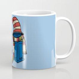 Blue Box in the Hat Coffee Mug