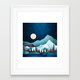 Moon Bay Framed Art Print