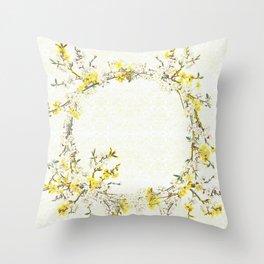 Natsukashii - for Spring Throw Pillow