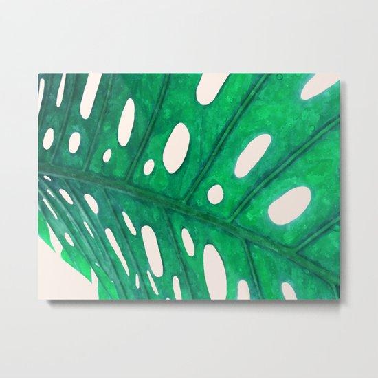 Foliage V2 #society6 #decor #lifestyle Metal Print