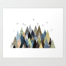 Mountain Dreaming Art Print
