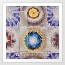 Serology Bald Flowers  ID:16165-155655-05591 Art Print