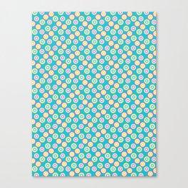Abstract dotty target circles. Canvas Print
