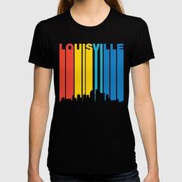 Retro 1970's Style Louisville Skyline T-shirt