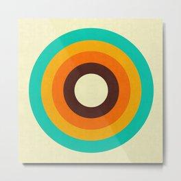 Minimalist and geometric composition II Metal Print