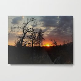 Groveland Sunset Metal Print