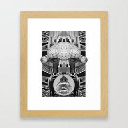 Novo Uomo Framed Art Print