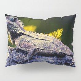painting dragon lizart Pillow Sham