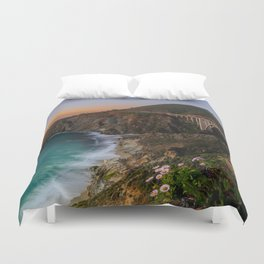 Bridge Coastal Cove Duvet Cover
