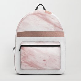 Minimalist rose gold glam Backpack
