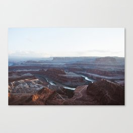 Sunset at Deadhorse Point State Park Canvas Print