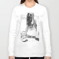 mirror Long Sleeve T-shirts featuring Mirror by Skye Rao