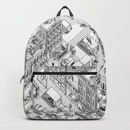 MacPaint project: NYC Backpack