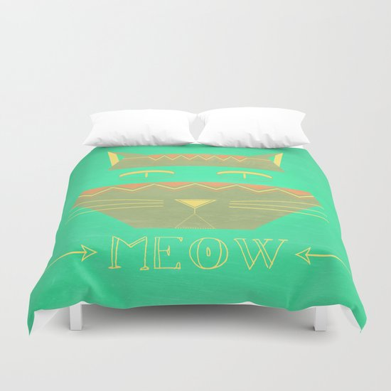 almost in cognito meow Duvet Cover