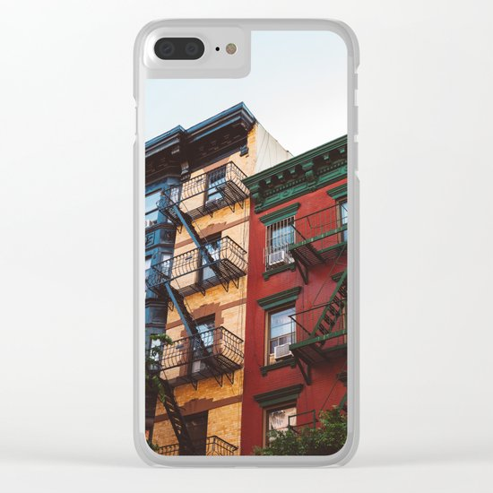 Soho XIV Clear iPhone Case