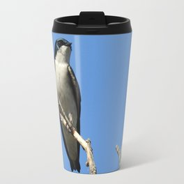 Male Tree Swallow Travel Mug