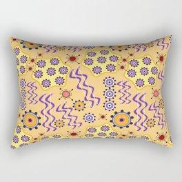 Atom pattern Rectangular Pillow