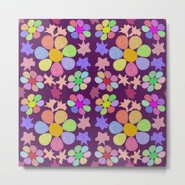 Seven petals flowers Metal Print