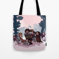 bouletcorp Tote Bags featuring Tribute by Bouletcorp