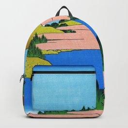 Mt,FUJI36view-Soshu Hakone Kosui - Katsushika Hokusai Backpack