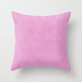Speckled Texture - Pastel Rose Pink Throw Pillow
