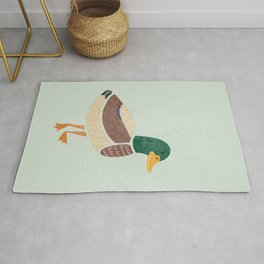 D is for Duck (Text Free) Rug