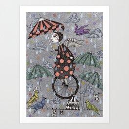 Rainbirds Art Print