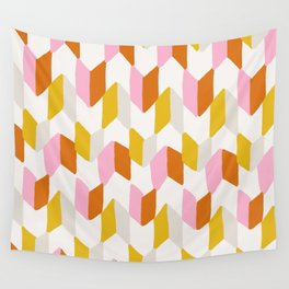 delilah, chevron pattern Wall Tapestry
