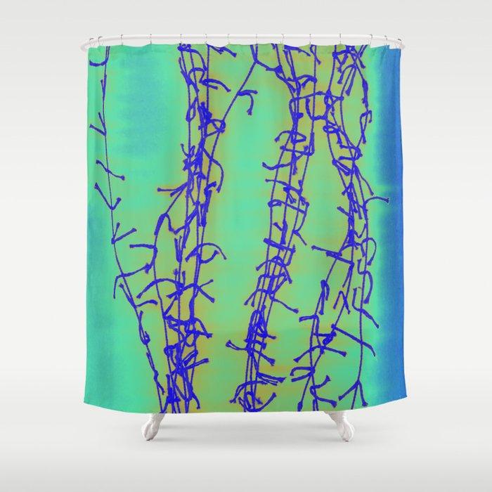 Good Vibrations 2 Shower Curtain