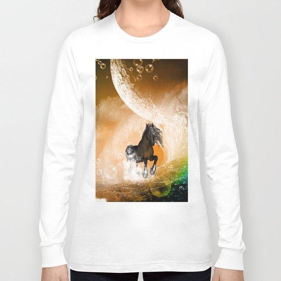 Running horse Long Sleeve T-shirt