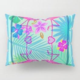 Flamingo Dance Pillow Sham