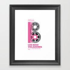 Bike to Life - Bicivoladores Framed Art Print