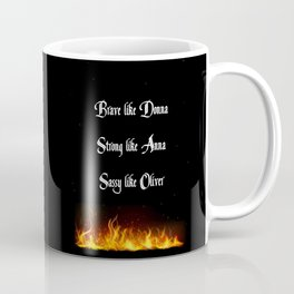 How to Face the Fire Coffee Mug