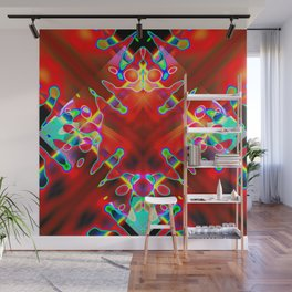 Painted Prism Wall Mural