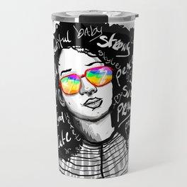 urban woman Travel Mug