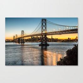 Goodnight San Francisco Canvas Print