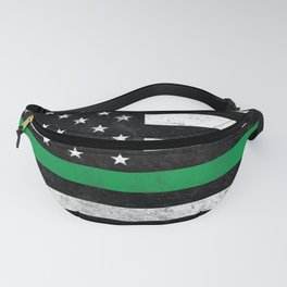 Thin Green Line Fanny Pack