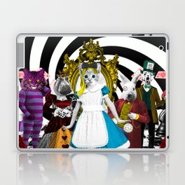 Cat-lice in Wonderland Laptop & iPad Skin