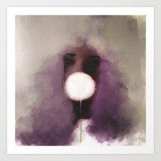 Cotton Candy v1 Art Print
