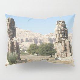 The Clossi of memnon at Luxor, Egypt, 2 Pillow Sham