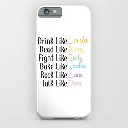 Drink Like... iPhone Case