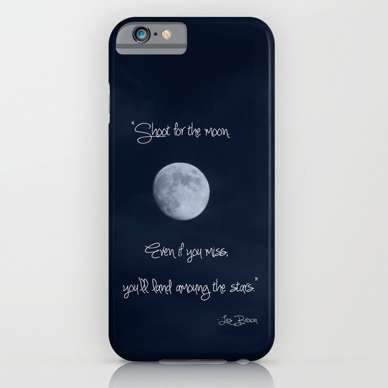 Shoot for the Moon iPhone & iPod Case