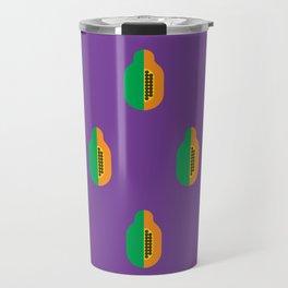 Fruit: Papaya Travel Mug
