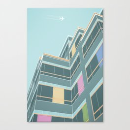 Los Angeles [Lines Project] [3] Canvas Print