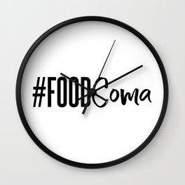 #foodcoma Wall Clock