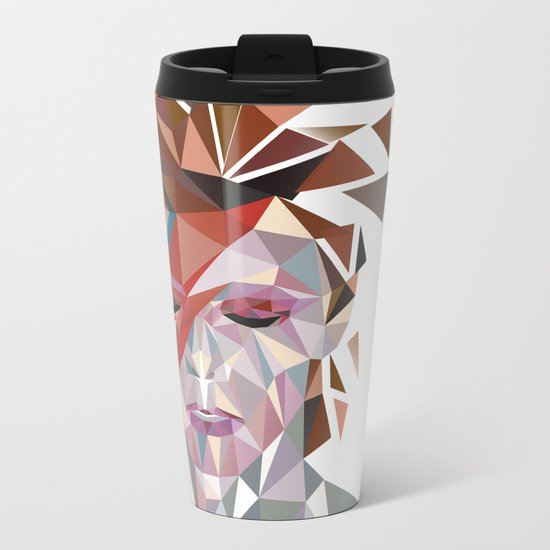 Bowie Stardust Metal Travel Mug